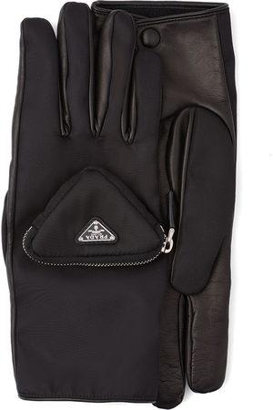 Prada Men Purses & Wallets - Pouch-detail logo gloves