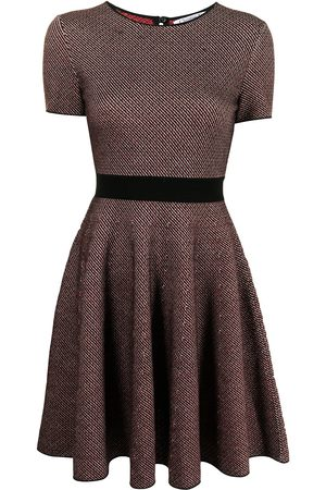 Dior Pre-owned short-sleeved flared dress