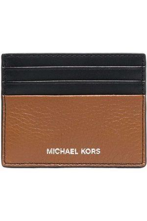 Michael Kors Men Purses & Wallets - Engraved-logo cardholder