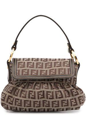 Fendi Women Shopper & Tote Bags - 1990s Zucchino flap tote bag