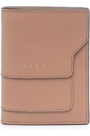 Marni Women Purses & Wallets - Saffiano leather bi-fold wallet