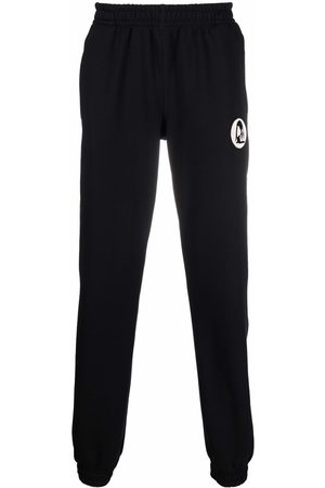 Styland Trousers - Embroidered-design track pants