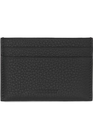 Burberry Grained-leather cardholder