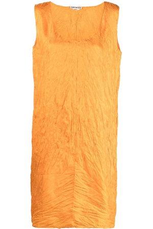 Issey Miyake 2000s sleeveless knee-length dress