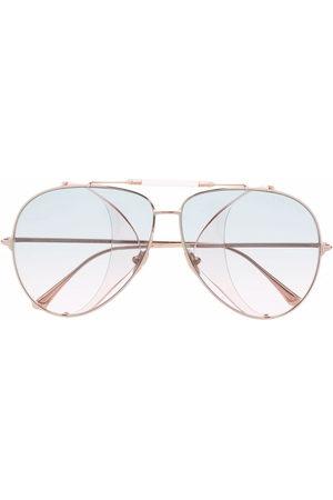 Tom Ford Aviator-frame sunglasses