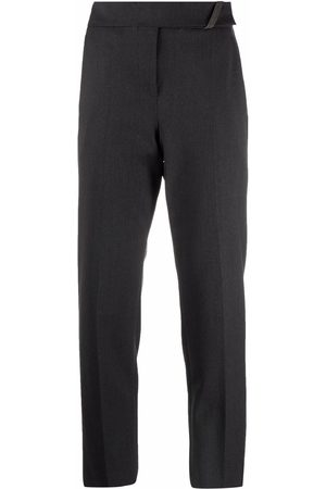 Brunello Cucinelli Women Trousers - Cropped tailored trousers