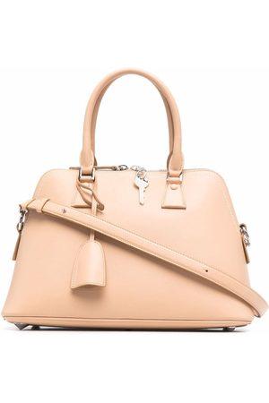 Maison Margiela Women Handbags - 5AC leather tote bag - Neutrals