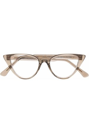 AHLEM Rueberthe transparent cat-eye glasses - Neutrals