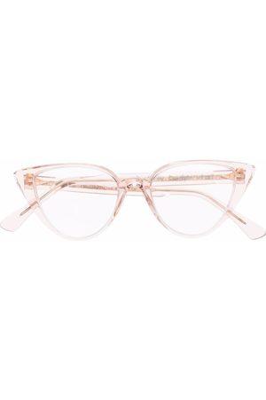 AHLEM Transparent cat-eye glasses