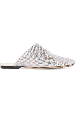 Bottega Veneta 10mm Sparkle Dot Sock Slippers