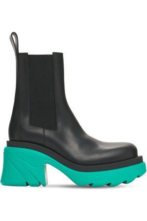 BOTTEGA VENETA 95mm Flash Leather Chelsea Boots