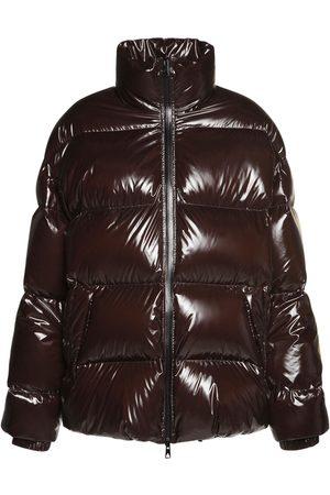 Bottega Veneta Nylon Shiny Oversized Puffer Jacket