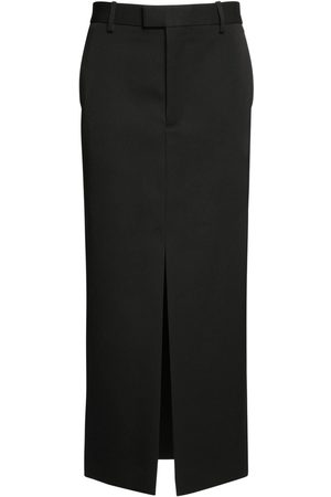 Bottega Veneta Women Pencil Skirts - Grain De Poudre Sartorial Pencil Skirt