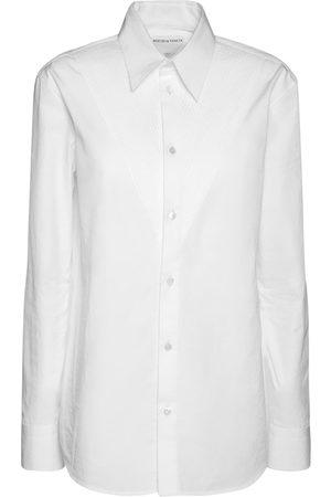 Bottega Veneta Women Shirts - Cotton Poplin Compact Shirt