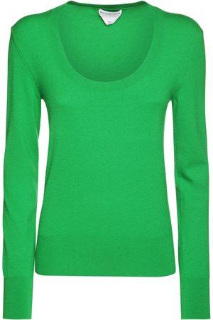 Bottega Veneta Women Jumpers - Cashmere Blend Knit Crewneck Sweater