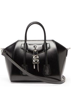 Givenchy Antigona Lock Mini Leather Bag - Womens