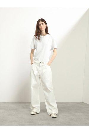 Raey Fold Organic-cotton Dad Baggy Boyfriend Jeans - Womens