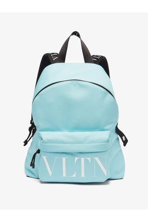 VALENTINO GARAVANI Men Rucksacks - Vltn-logo Canvas Backpack - Mens