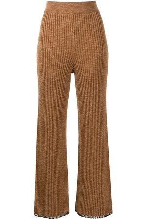 PROENZA SCHOULER WHITE LABEL Ribbed-knit trousers