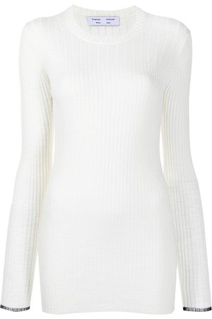 PROENZA SCHOULER WHITE LABEL Women Tops - Fine-rib knitted top