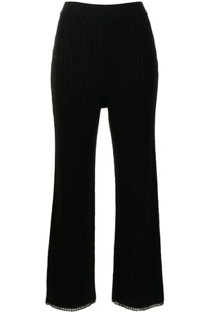 Proenza Schouler White Label Women Trousers - Ribbed-knit trousers