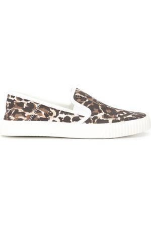 VERONICA BEARD Leopard-print cotton sneakers