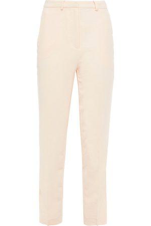 Bash Woman Crepe Slim-leg Pants Blush Size 0