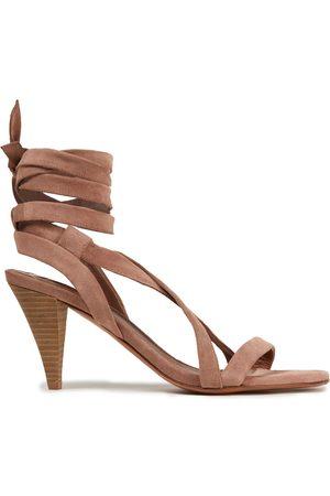 Bash Woman Cidney Suede Sandals Antique Rose Size 36