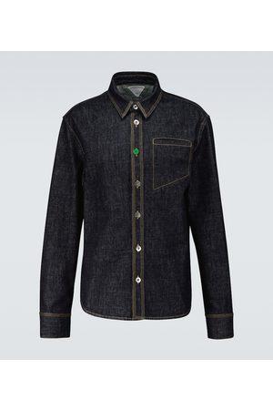 Bottega Veneta Long-sleeved denim shirt