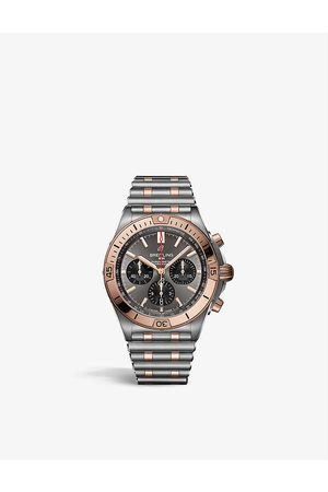 Breitling UB0134101B1U1 Chronomat B01 42 stainless-steel and 18ct red-gold self-winding watch