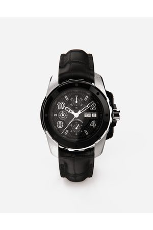Dolce & Gabbana Men Watches - Watches - DS5 watch in white gold and steel with pvd coating male OneSize