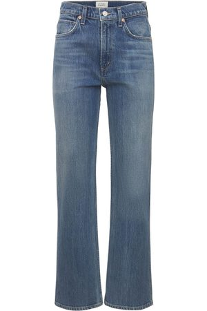 Citizens of Humanity Women Jeans - Daphne High Waist Stovepipe Denim Jeans