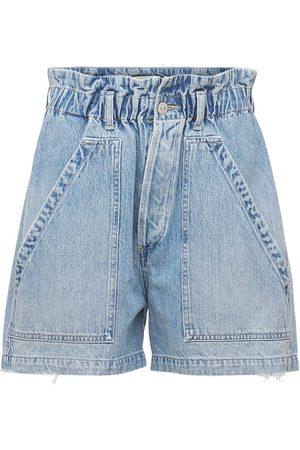 Citizens of Humanity Naria Play Organic Cotton Denim Shorts