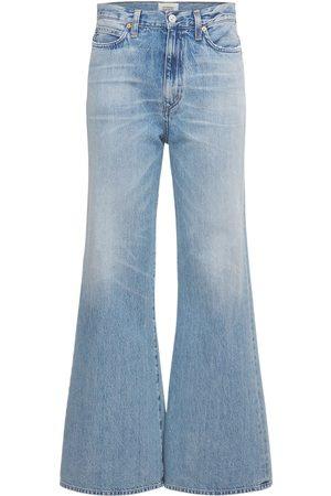 Citizens of Humanity Women Bootcut - Rosanna High Waist Wide Leg Cotton Jeans