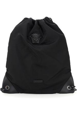 VERSACE Men Rucksacks - MEDUSA NYLON BACKPACK SACK OS Leather, Technical