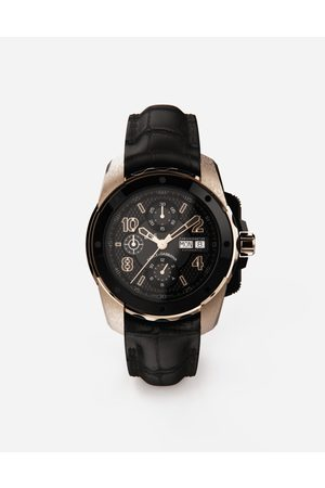 Dolce & Gabbana Men Watches - Watches - DS5 watch in red gold and steel with pvd coating male OneSize
