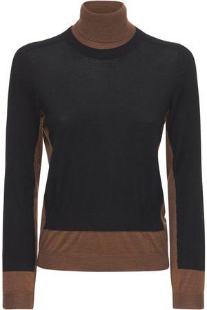 Marni Wool Knit Turtleneck Sweater