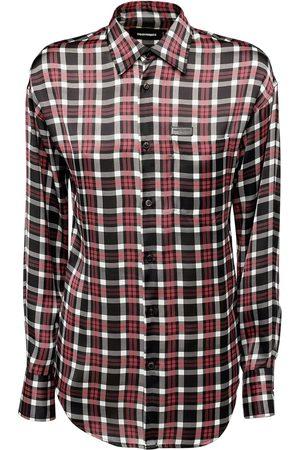 Dsquared2 Women Shirts - Printed Check Twill Shirt