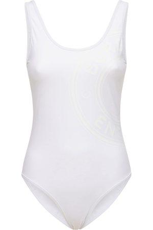 Burberry Women Swimsuits - Jolie Logo One Piece Swimsuit