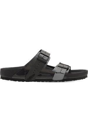 Rick Owens Birkenstock Iridiscent Leather Sandals
