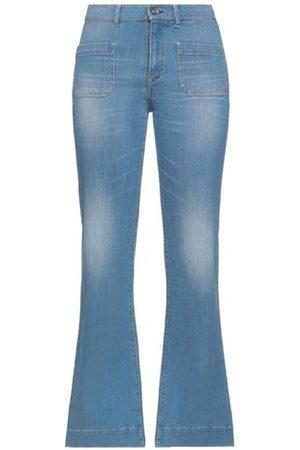 OTTOD'AME Women Trousers - DENIM - Denim trousers