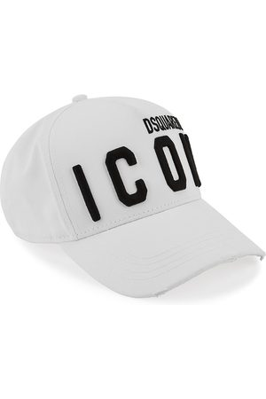 Dsquared2 Men Hats - Logo-embroidered Twill Cap