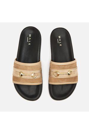 WALK LONDON Men Sandals - Men's Ronny Trim Slide Sandals