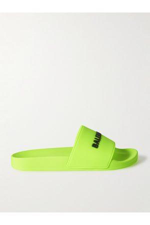 Balenciaga Men Sandals - Logo-Detailed Rubber Slides