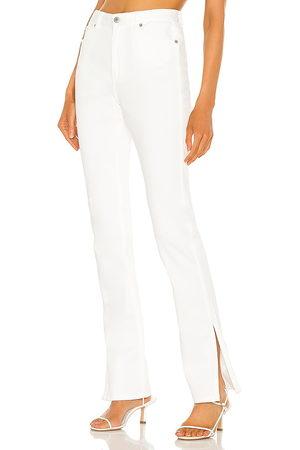 Something Navy Nina Denim Pants with Slit in . Size 00, 6, 2, 4, 8, 10.
