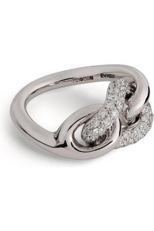 Pomellato Gold and Diamond Catene Ring