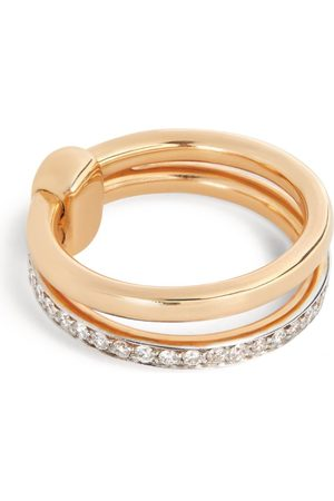 Pomellato Rose Gold and Diamond Iconica Band Ring (Size 45-60)