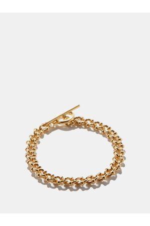 ALL BLUES Men Bracelets - Dna T-bar 18kt -plated Bracelet - Mens