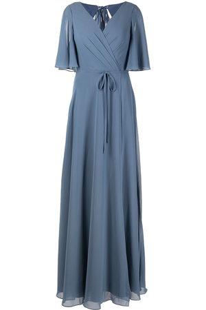 Marchesa Notte Women Evening Dresses - Rome flutter-sleeve gown