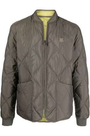 Kenzo Men Bomber Jackets - Quilted down bomber jacket